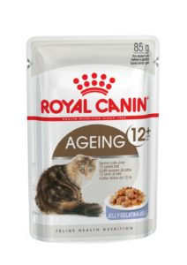 Ageing 12+ in jelly pouch cat food