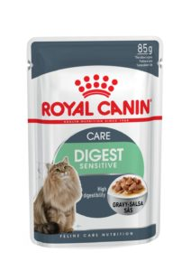 Digestive Sensitive in gravy pouch cat food digest