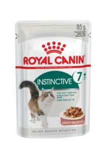 Instinctive 7+ in gravy pouch cat food