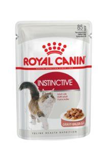 Instinctive in gravy pouch cat food