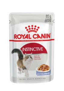 Instinctive in jelly pouch cat food