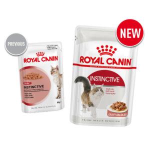 Old vs new Royal Canin instinctive cat food