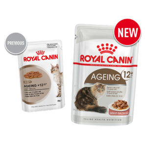 Old vs new Royal Canin aging cat food