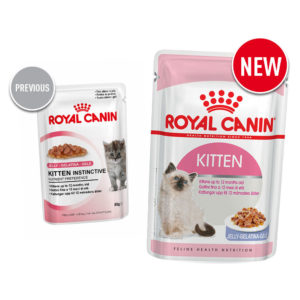 Old vs new Royal Canin food