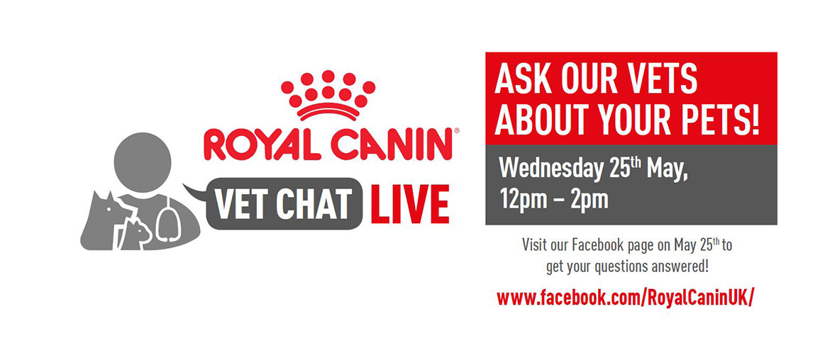 Ask The Vet Live! May 25th