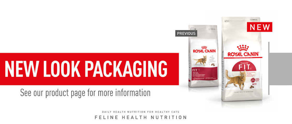 New look packaging for Feline Health Nutrition range