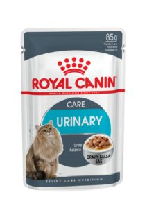 Urinary care in gravy pouch cat food urinary