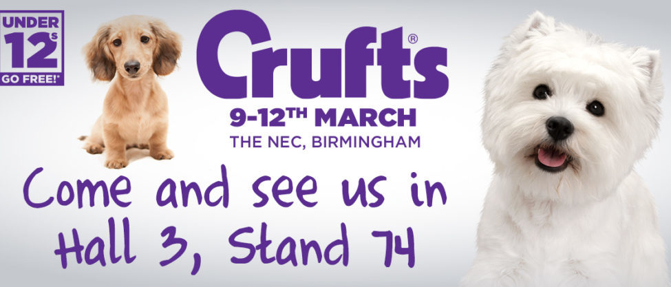 Come and see us at Crufts!