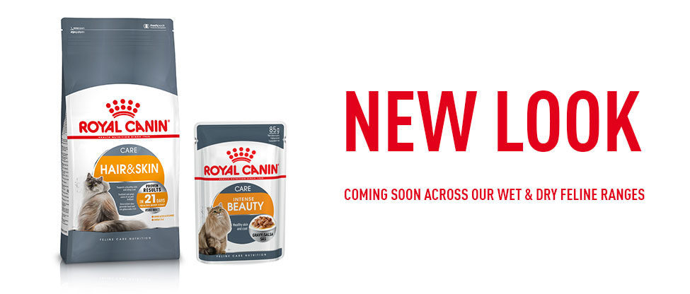 New look coming soon across our wet & dry feline food ranges.