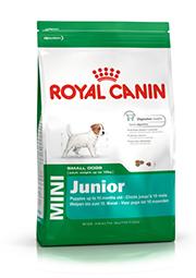 Mini Junior Packshot Dog Food