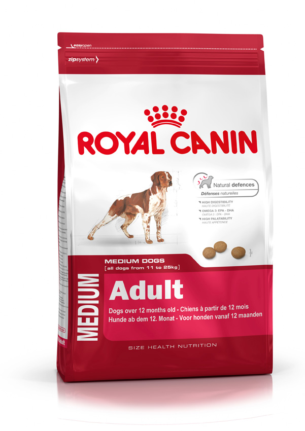 medium adult royal canin. Black Bedroom Furniture Sets. Home Design Ideas