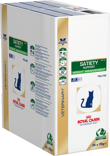 satiety weight management dry sachets royal canin. Black Bedroom Furniture Sets. Home Design Ideas