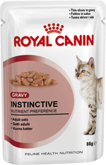 Instinctive in gravy